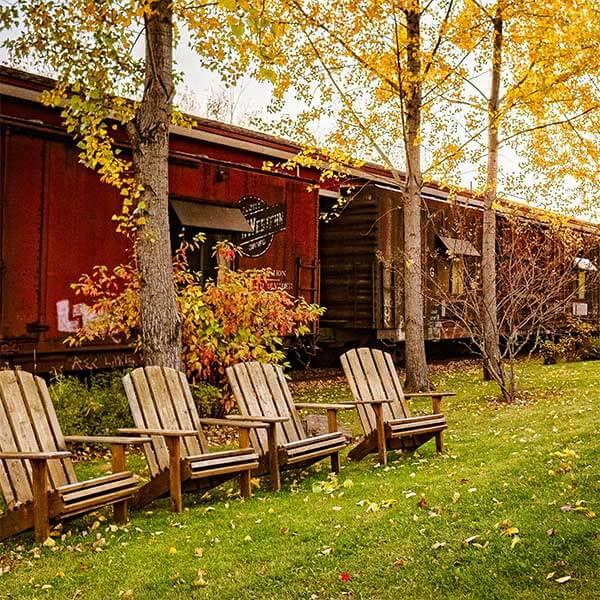 Northern Rail Traincar Inn