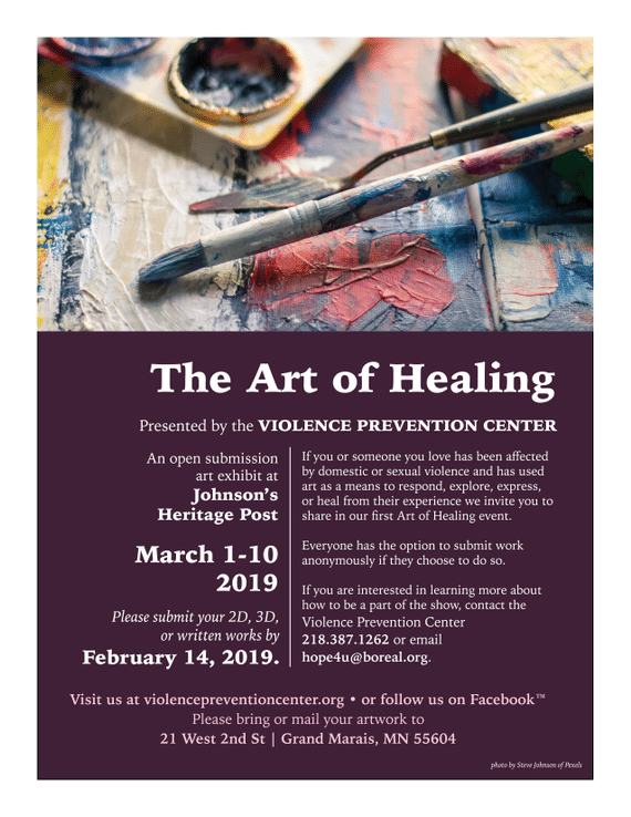 The Art Of Healing Exhibition