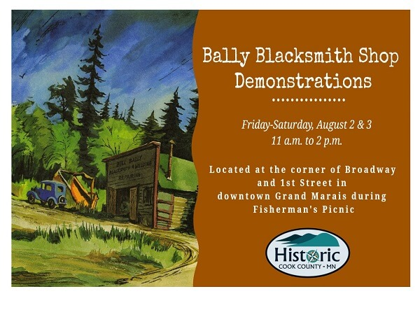 Bally Blacksmith Shop demonstrations