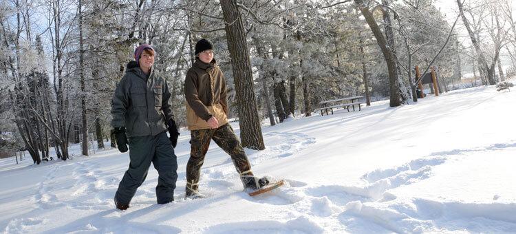 Urban Snowshoe Lacing Workshop