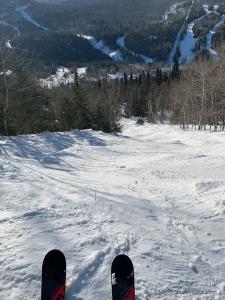 Moguls run, Lutsen Mountains