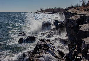 Lake Superior at Gooseberry Falls State Park