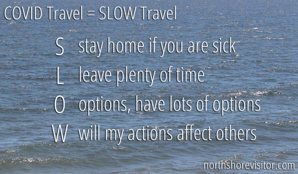 covid travel north shore