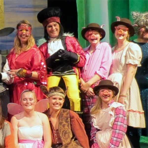 cast from a musical and play at grand marais playhouse