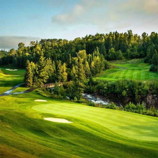 golf superior national at lutsen