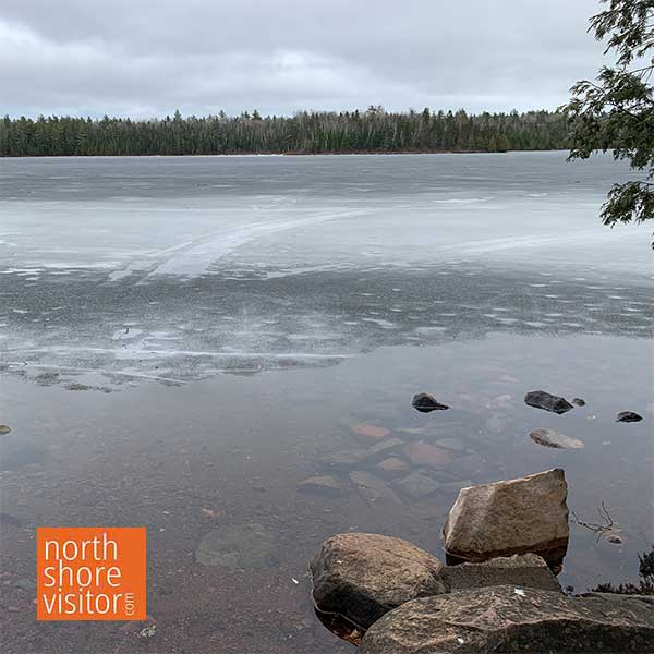 Ice Out on Inland Lakes