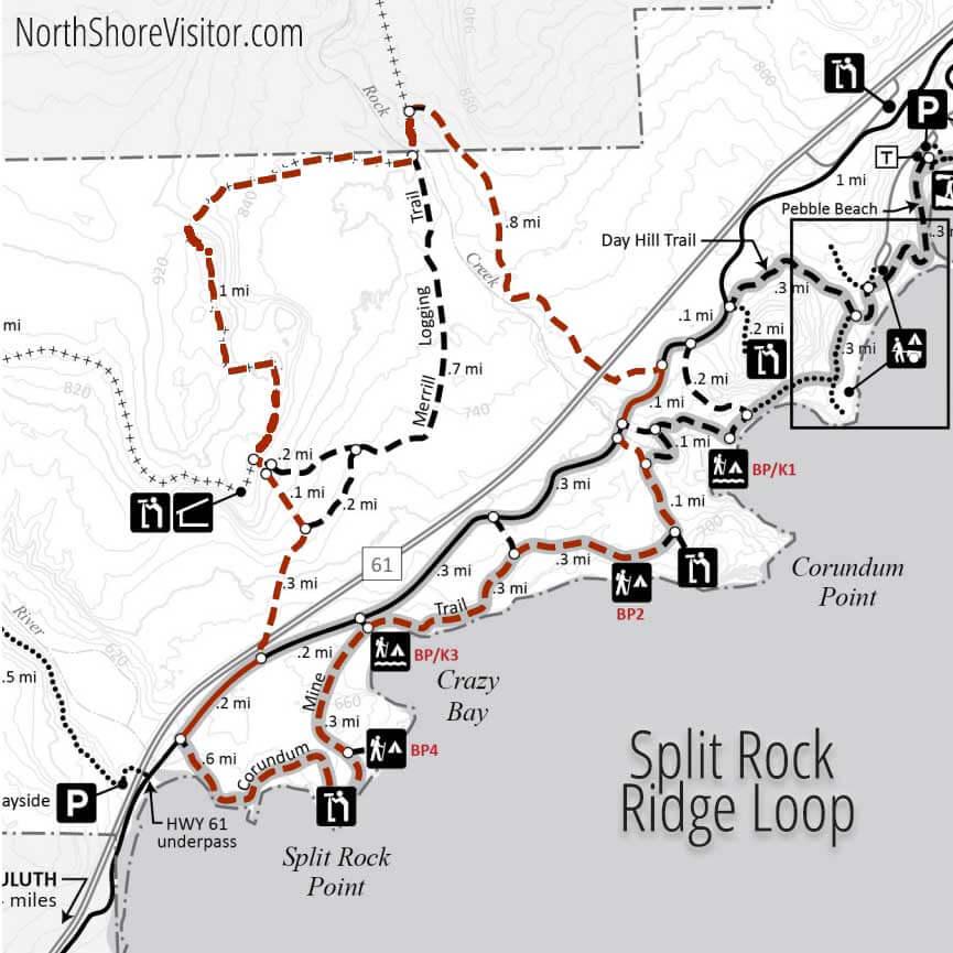 split rock ridge loop