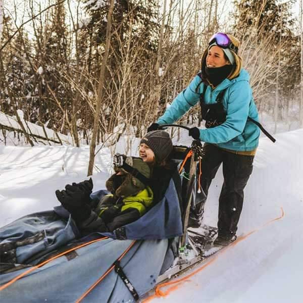 dogsled rides at gunflint lodge
