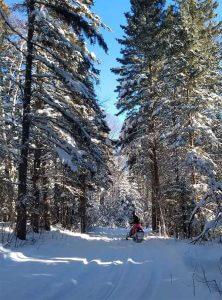 snowmobiling in lutsen mn