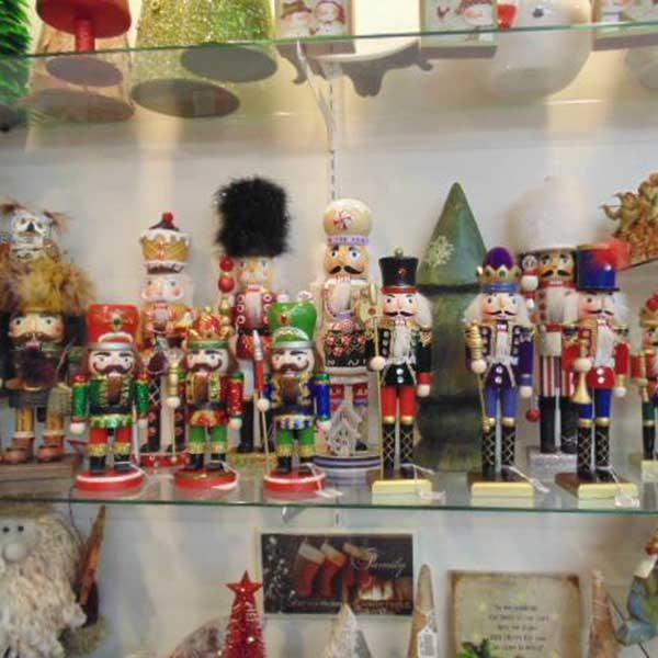 Nutcracker display at Christmas up north Beaver Bay