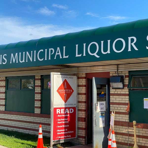 Grand Marais municipal liquor store