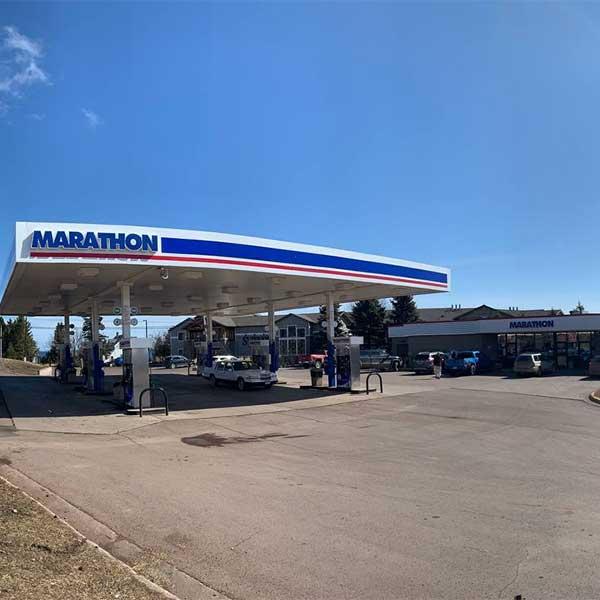 Marathon gas station Grand Marais mn