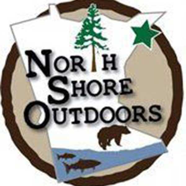 north shore outdoors minnesota logo