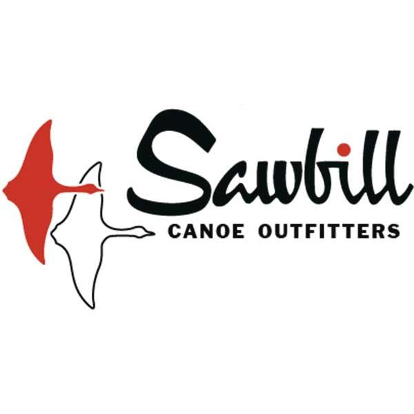 sawbill canoe outfitters logo