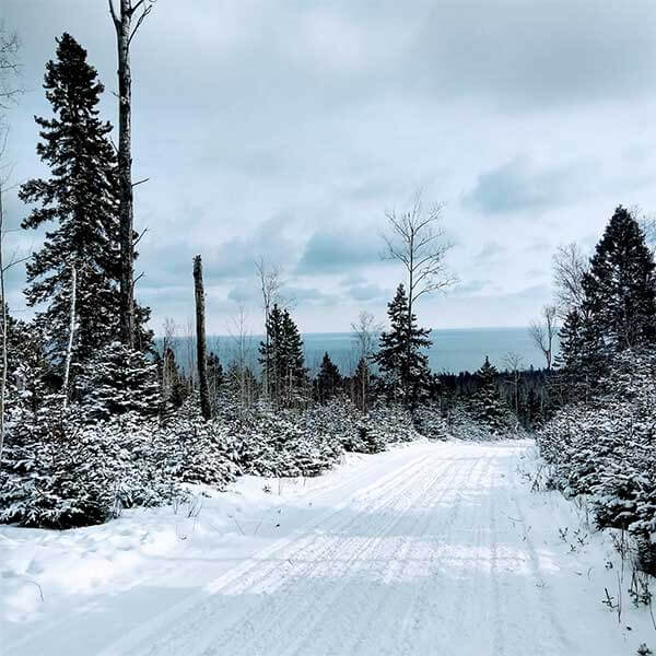 Snowmobile Trails-Lutsen / Tofte