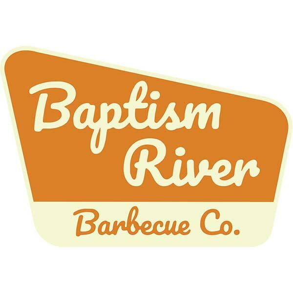 Baptism River Barbecue sign