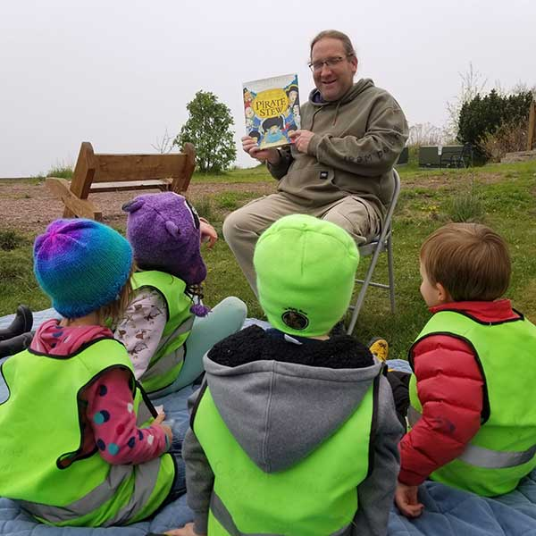 Muffin Man Outdoor Story Hour