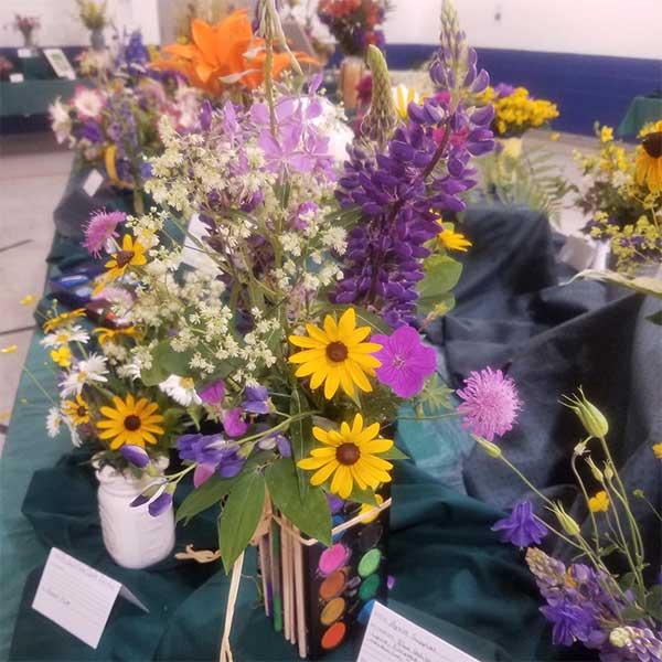 West end Garden Club Flower Show