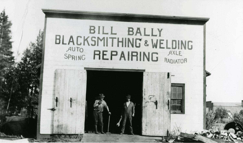 Bally Blacksmith and Metal Shops open