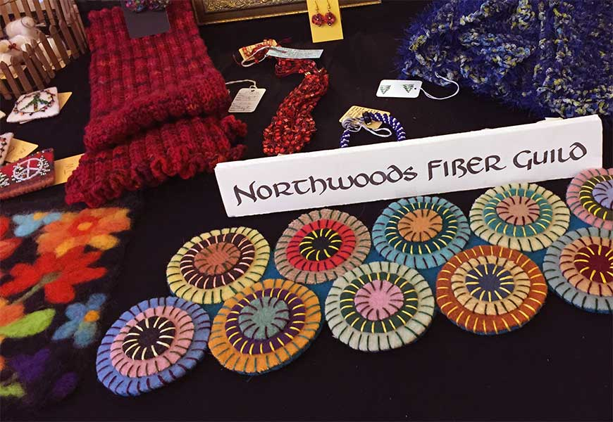 Northwoods Fiber Guild Annual Holiday Sale & Open House