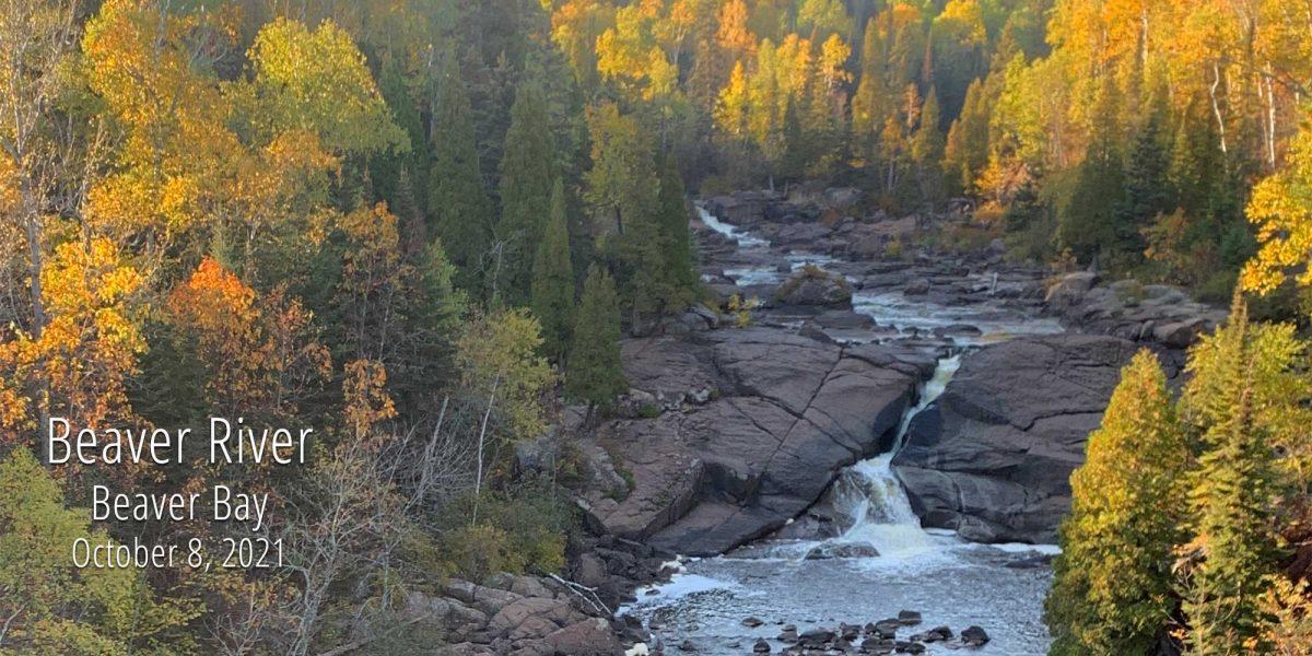autumn colors along the beaver river