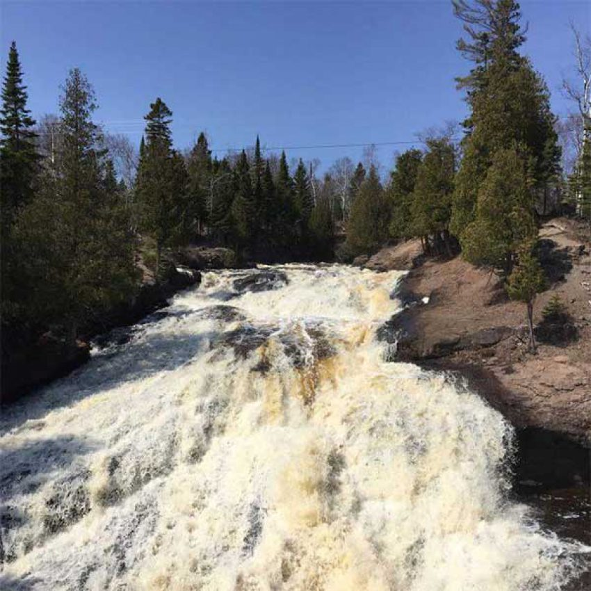 cross river falls schroeder mn from hwy 61