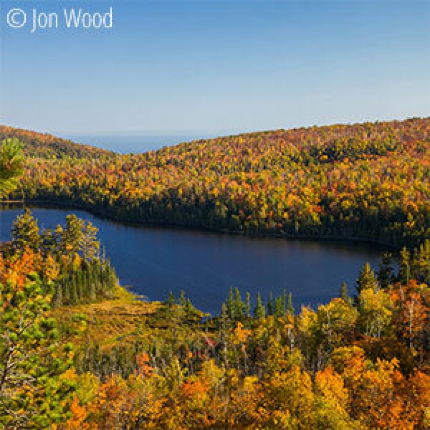 inland tettegouche fall colors