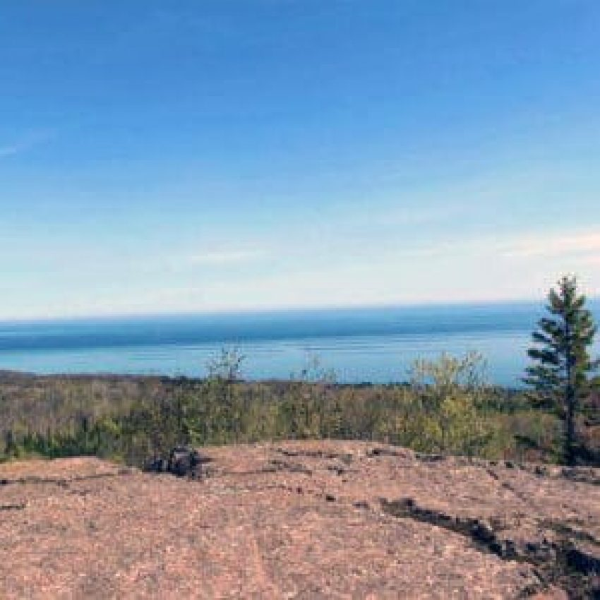 hike to the top of pincushion