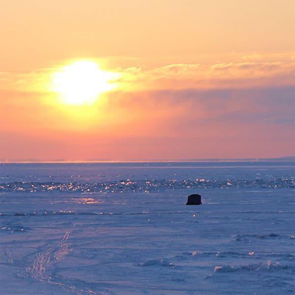 ice fishing mn north shore