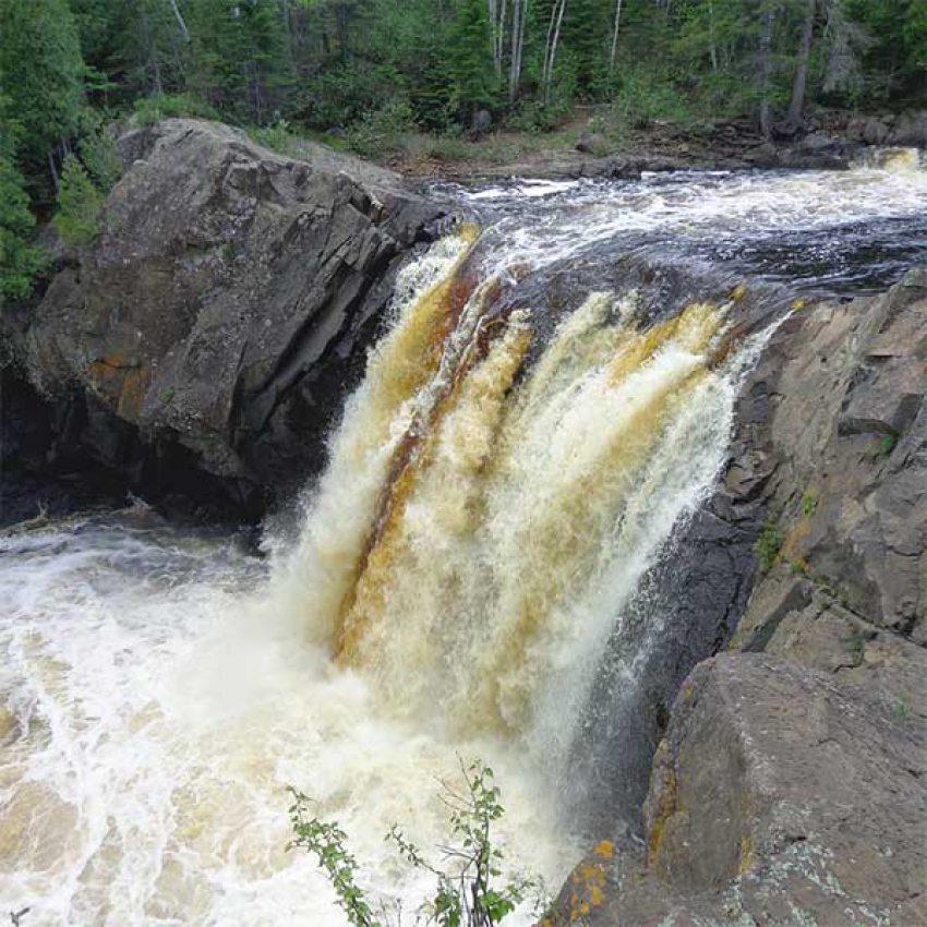 illgen falls baptism river