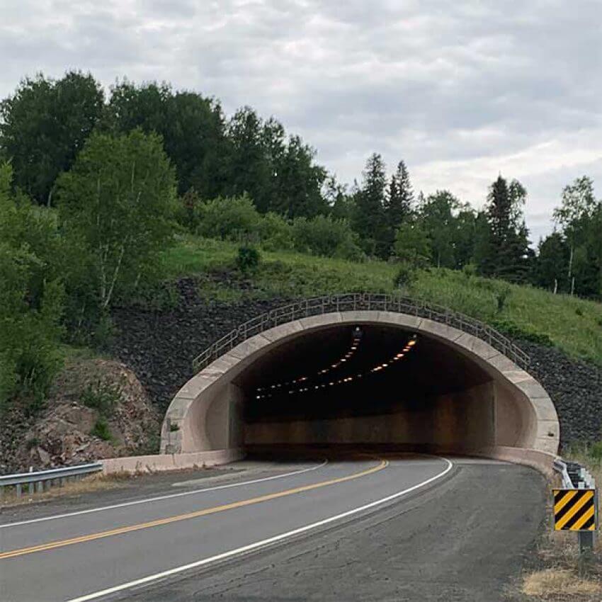 lafayette tunnel highway 61 mn