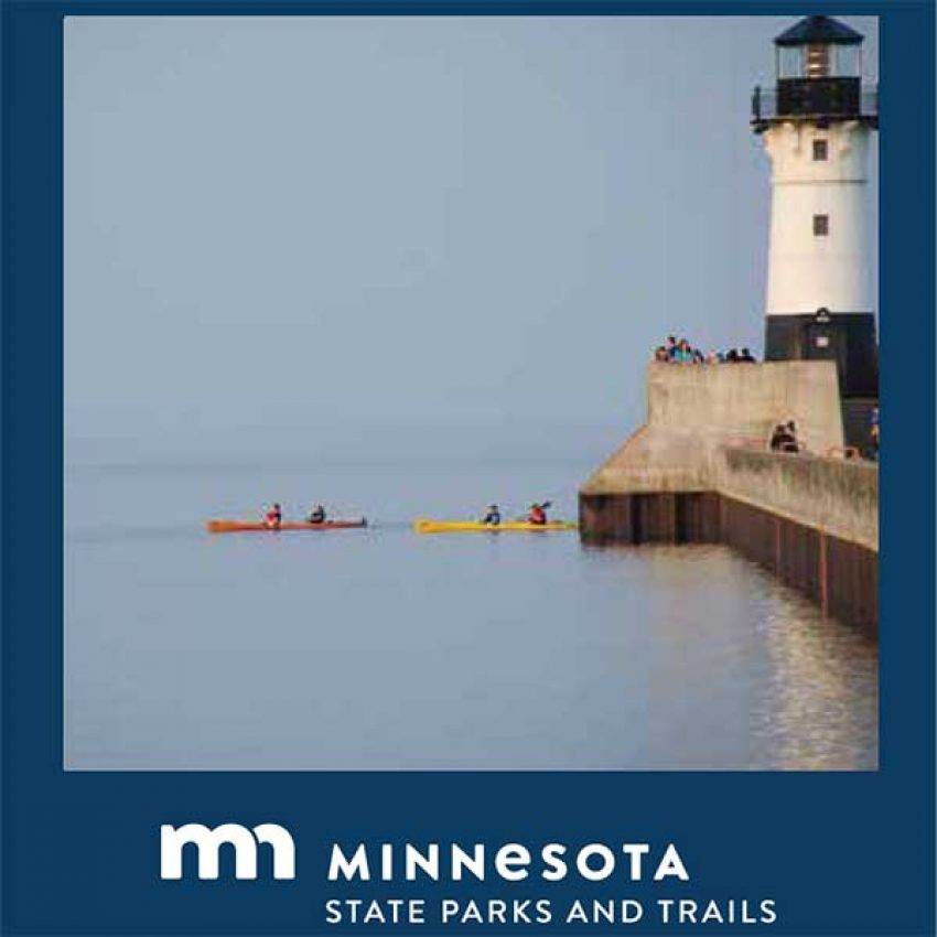 2 kayakers near duluth canal