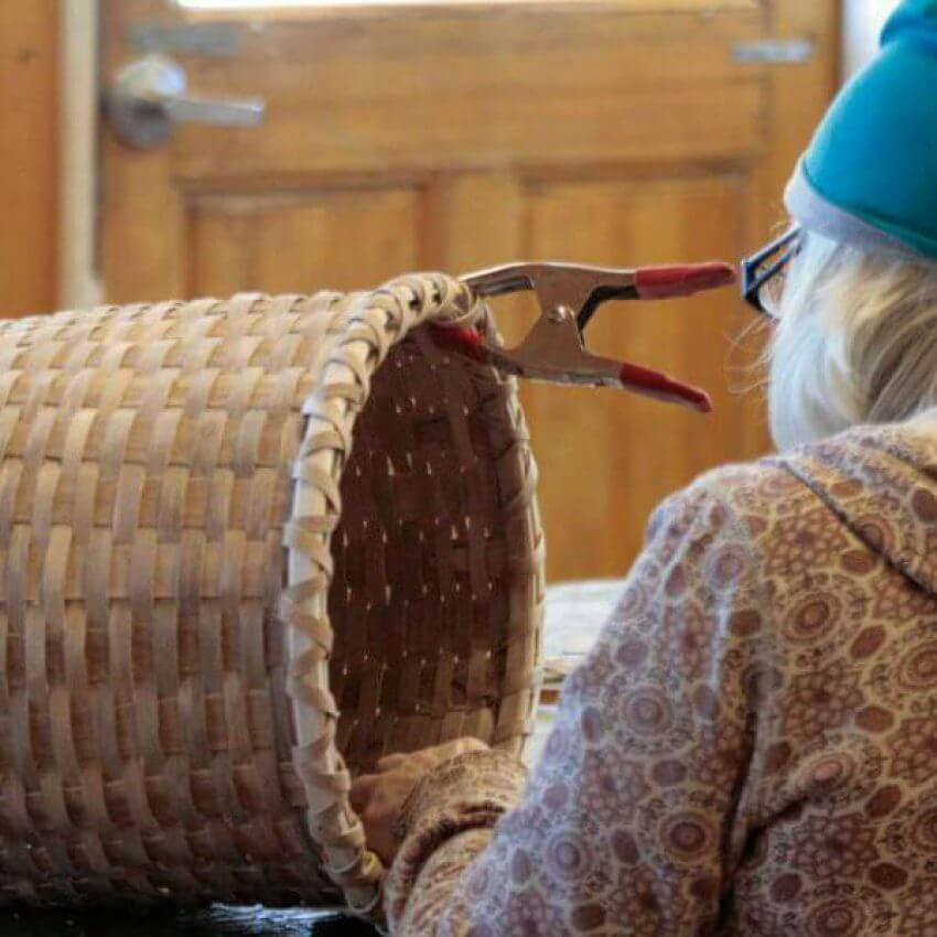 north house basket making class